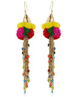Rosita Pompom Earrings