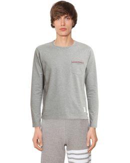 Cotton Jersey Long Sleeve T-shirt