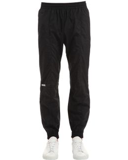Reebok Fitted Nylon Track Pants
