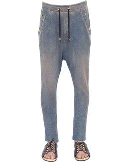 Washed Cotton Jersey Sweatpants