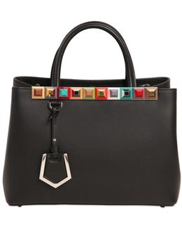 Small 2jours Studded Leather Bag