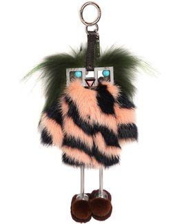 Hypno Doll Fox Fur Bag Charm