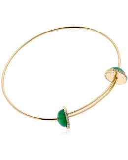 Sliding Agate Drops Bracelet
