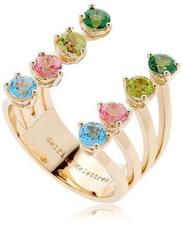 Multicolor Dots Ring