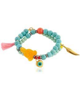 Amulets For Hangover Beaded Bracelet
