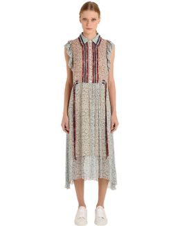 Prairie Floral Print Viscose Dress