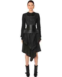 Asymmetric Linen Dress