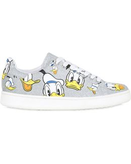 10mm Donald Duck Glittered Sneakers