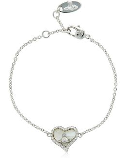 Petra Orbit Heart Bracelet