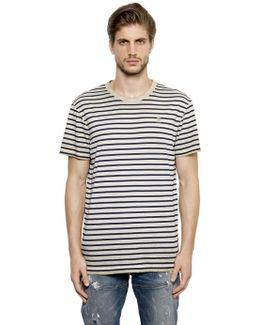 Washed Organic Cotton Jersey T-shirt