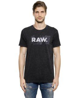 Raw Print Organic Cotton Jersey T-shirt