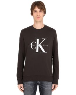 Printed Logo Essential Cotton Sweatshirt