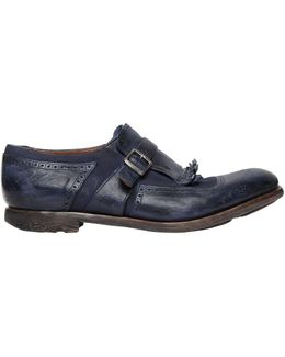 Shanghai Washed Leather & Linen Shoes