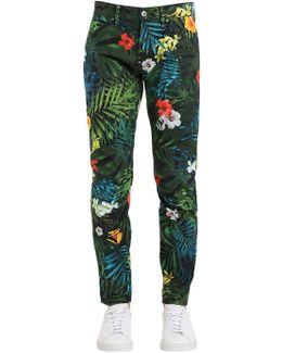 5622 Elwood Aloha Print Jeans