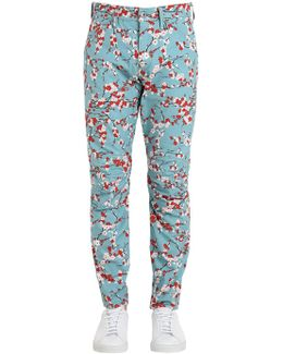 5622 Elwood Sakura Print Jeans