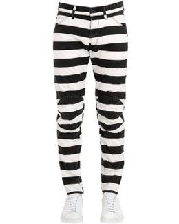5622 Elwood Prison Stripe Jeans