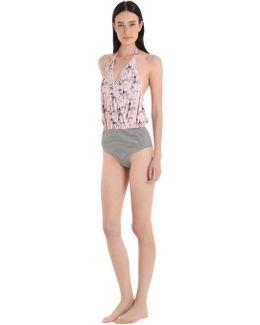 Camarat Marble & Seersucker Swimsuit
