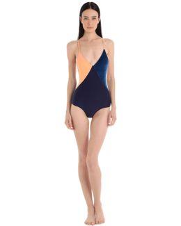 Santiago Lycra & Velvet Swimsuit