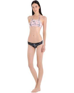 La Baule Marble Duo Lycra Bikini