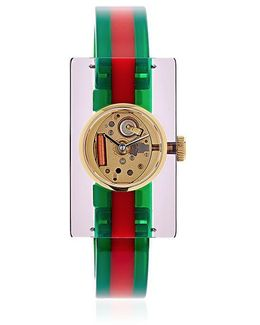 Web Plexiglas Watch