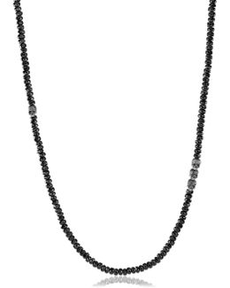 Skull Station Spinel Beads Necklace