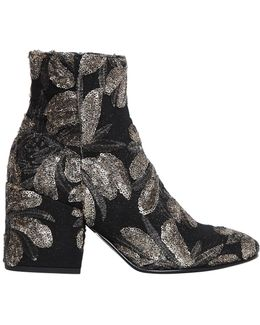 70mm Sequined Ankle Boots
