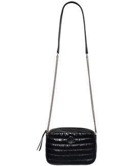 Atla Quilted Laqué Nylon Shoulder Bag