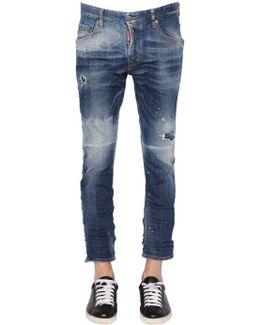 16cm Skater Stretch Denim Jeans