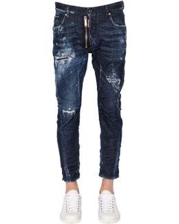 17cm Tidy Biker Stretch Denim Jeans