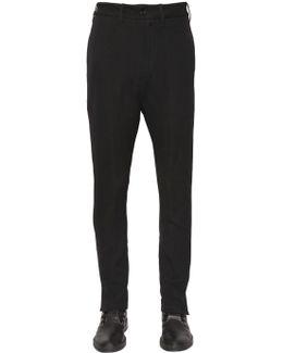 16cm Virgin Wool Blend Twill Pants