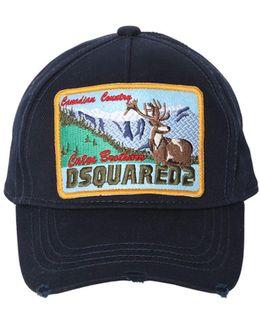 Cotton Canvas Baseball Hat