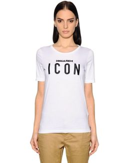 Icon Cotton Jersey T-shirt