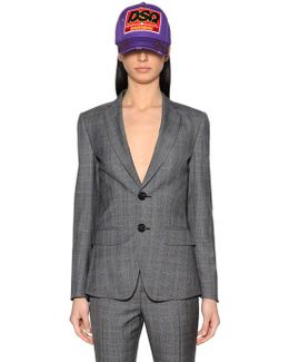 Prince Of Wales Cool Wool Suit