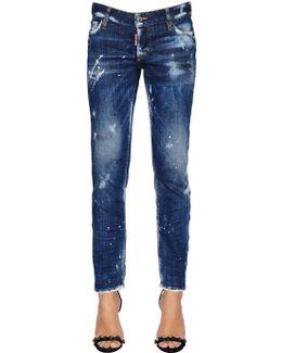 Scratched Jennifer Denim Jeans