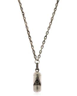 Bullet Pendant Necklace
