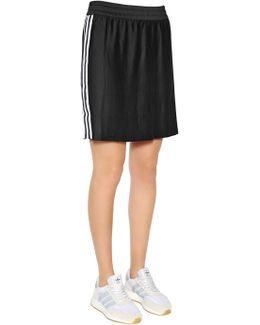 3 Stripes Pleated Skirt