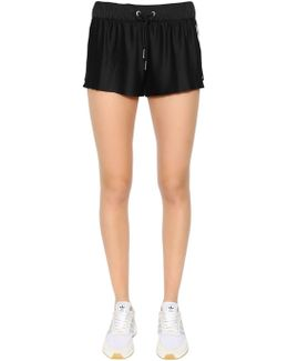 3 Stripes Pleated Shorts