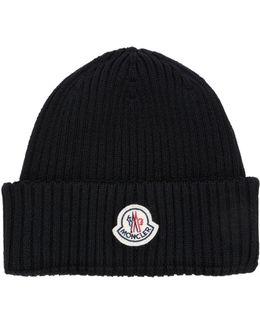 Logo Reverse Wool Hat