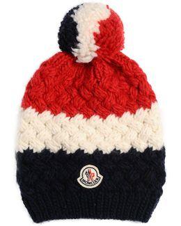 Tricolor Logo Wool Alpaca Hat
