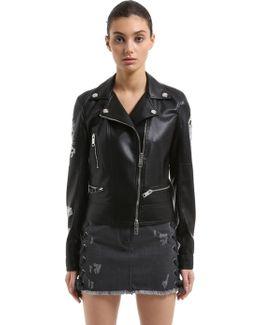 Zayn X Faux Leather Biker Jacket