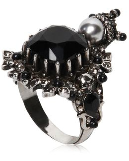 House Of Skull Brass Ring
