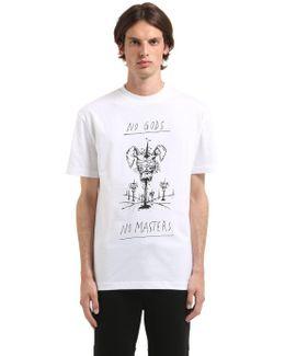 No Gods Organic Cotton Jersey T-shirt