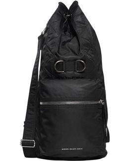 Nylon Duffle Backpack