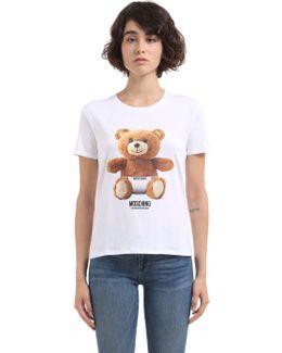 Underbear Print Cotton Jersey T-shirt