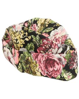 Floral Jacquard Hat