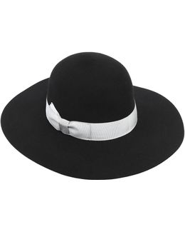 Soft Wide Brim Felt Hat