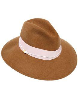 Wide Brim Wool Felt Hat