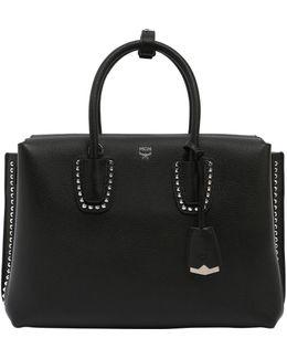 Medium Milla Studded Leather Bag