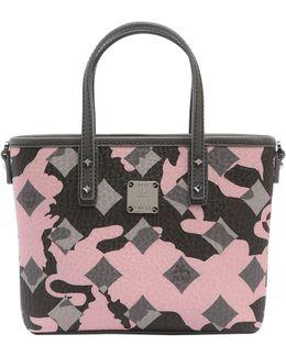Mini Anya Camo Printed Tote Bag