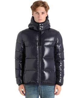Harry Shiny Nylon Down Jacket